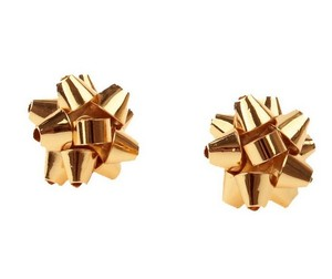 Kate Spade Kate Spade Gold Bow Stud Earrings
