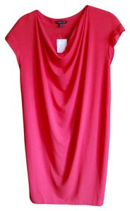 Eileen Fisher short dress Pink Strawberry on Tradesy