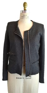 IRO Tweed Gray Jacket