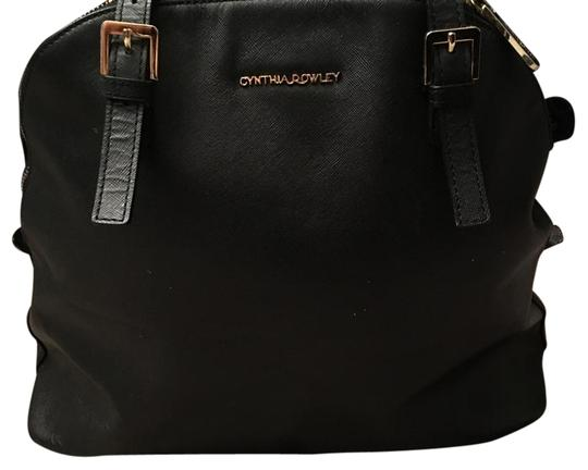 Preload https://img-static.tradesy.com/item/20200578/cynthia-rowley-black-leather-satchel-0-1-540-540.jpg