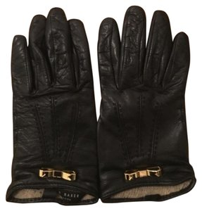 Ted Baker Ted Baker Leather Bow Gloves