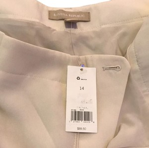 Banana Republic Trouser Pants Cream