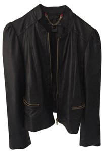 Marc Jacobs Leather Date Night Party Casual New York Leather Jacket