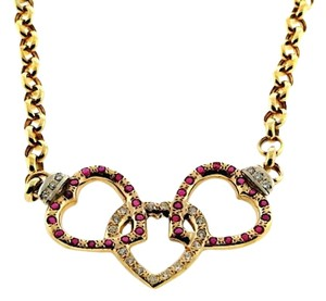 Other 14k Gold, Ruby, Diamond necklace w Appraisal