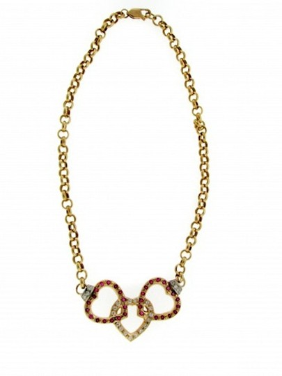 Other STEAL - 14k Gold, Ruby, Diamond necklace w Appraisal