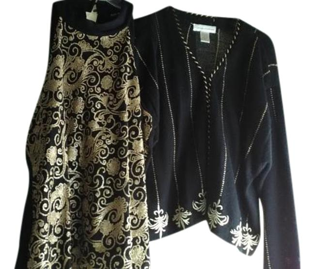 Preload https://img-static.tradesy.com/item/20200732/style-and-co-black-sequins-embroidered-sweaterpullover-size-12-l-0-1-650-650.jpg