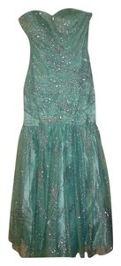 DEB Formal Beaded Sequin Mermaid Prom Dress
