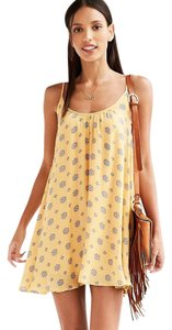 Urban Outfitters short dress Yellow Summer on Tradesy