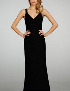 Jim Hjelm Black 5308 Dress