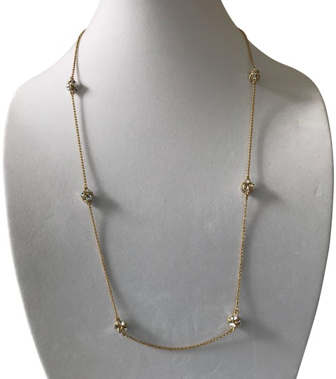 Preload https://img-static.tradesy.com/item/20200865/kate-spade-gold-tone-crystal-cluster-stones-station-32-necklace-0-4-540-540.jpg