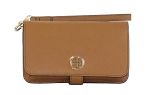 Tory Burch Wallet Wristlet in Tigereyes