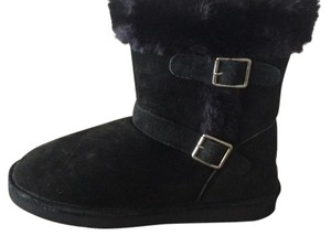 LAMO Black with silver buckle Boots