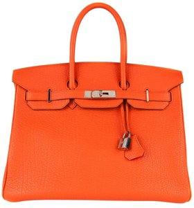 Hermès Tote in Feu Orange