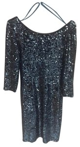 Laundry by Shelli Segal Laundry by Shelli Segal Black Sequin Dress