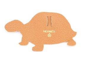 Hermès #9434 Petit H turtle ribbon Charm Perfect for Kelly and Birkin bags