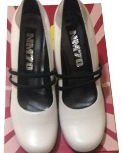 nm70 White Black Silver New Pumps
