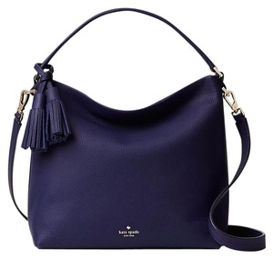 Kate Spade Blue Navy Pxru7084 098687000666 Indigo Shoulder Bag