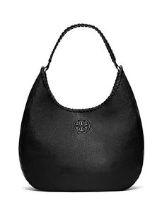 Tory Burch Leather Top Stiching Hobo Bag