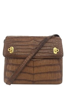 Salvatore Ferragamo Gold Hardware Shoulder Bag