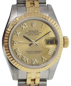 Rolex Rolex 179173 Two Tone Champagne Dial Ladies Watch