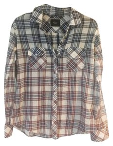 Rails Button Down Shirt Ombre Plaid