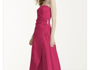 David's Bridal Watermelon 8567 Dress