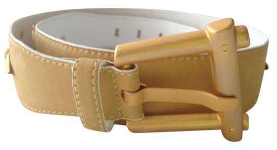 Preload https://img-static.tradesy.com/item/202021/escada-gold-suede-leather-size-38-belt-0-0-540-540.jpg