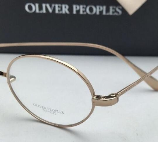 Oliver Peoples New OLIVER PEOPLES Eyeglasses CALIDOR OV 1185 5145 43-24 Gold Frames