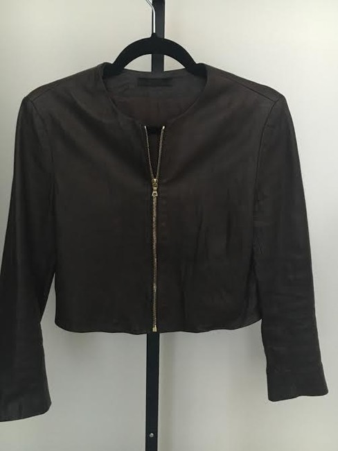 The Row Burberry Tory Burch Iro Veda Acne Brown Leather Jacket