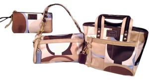 Coach Scarfprint Set Shoulder Bag