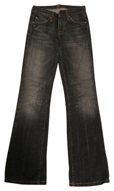 Preload https://img-static.tradesy.com/item/20202248/7-for-all-mankind-blue-flare-leg-jeans-size-24-0-xs-0-1-650-650.jpg