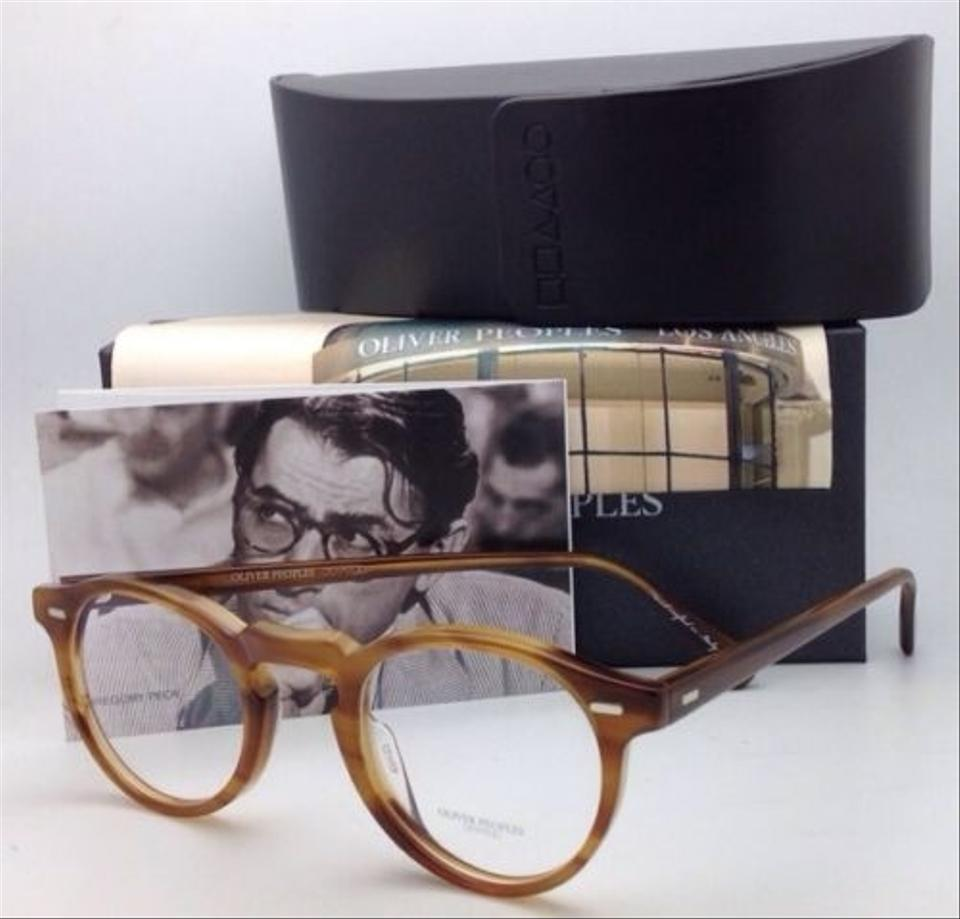 Oliver Peoples Gregory Peck Ov 5186 1011 47-23 Raintree Round Frames ...