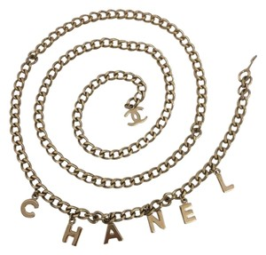 Chanel Chanel Belt With Hanging Letter Charms