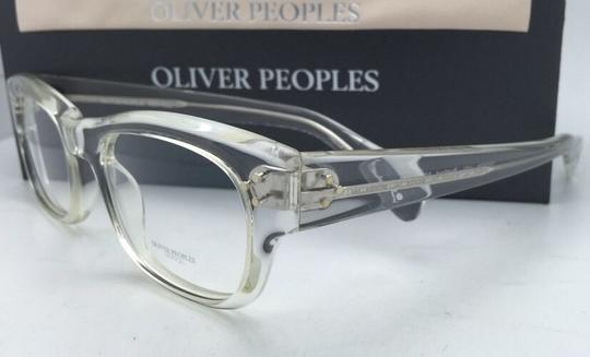 Oliver Peoples New OLIVER PEOPLES Eyeglasses BRADFORD OV 5229 1101 50-20 Crystal