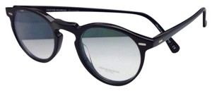Oliver Peoples New OLIVER PEOPLES Eyeglasses GREGORY PECK OV 5186 1005 47-23 Black