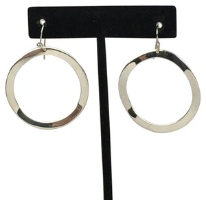 Ippolita Ippolita Sterling Silver Wavy Circle Drop Earrings
