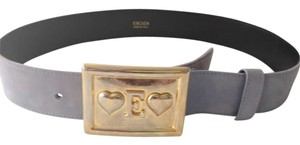 Escada Vintage Lilac Gold Love Buckle
