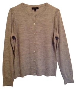 Banana Republic Silver Cardigan Sweater