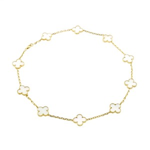 Van Cleef & Arpels Van Cleef Arpels Mother of Pearl Alhambra Necklace
