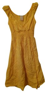 Estam short dress Yellow on Tradesy