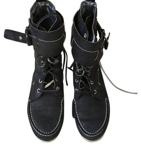 Balenciaga Hightops Navy blue Boots