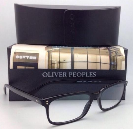 Oliver Peoples New OLIVER PEOPLES Eyeglasses DENISON OV 5102 1005 53-17 Black Frames