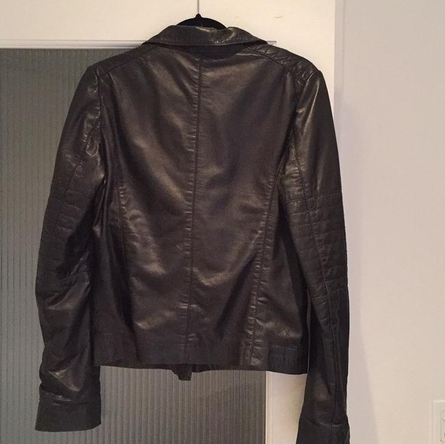 Scoop NYC Fall Leather Jacket