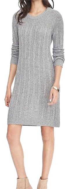 Preload https://img-static.tradesy.com/item/20202611/banana-republic-grey-cable-sweater-knee-length-short-casual-dress-size-4-s-0-1-650-650.jpg