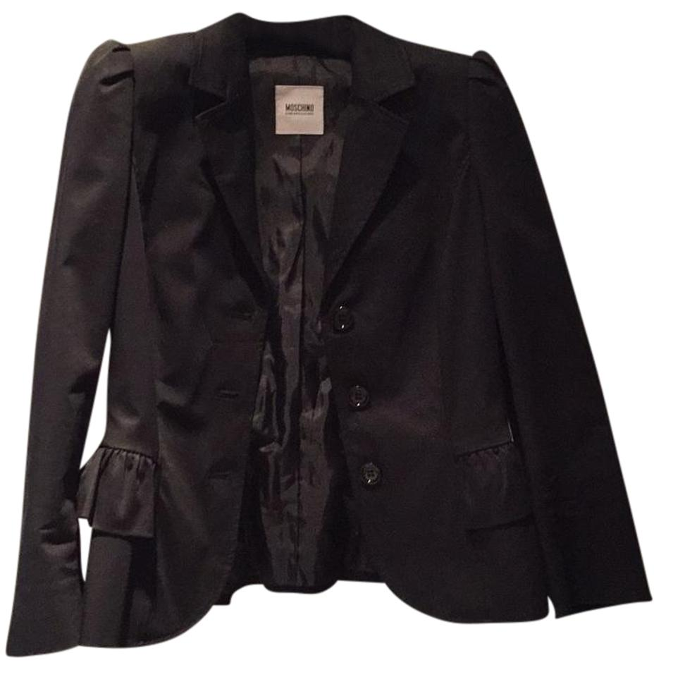 6350991ec9c38 Moschino Black Cheap & Chic Jacket Size 8 (M) - Tradesy