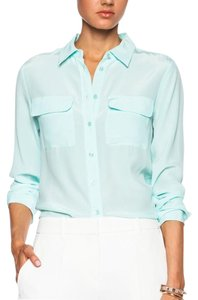 Equipment Button Down Shirt Spearmint