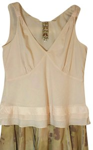 Anthropologie Pale Cotton Camisole Top Palest Pink