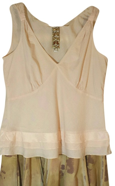Anthropologie Cotton Camisole Size 8 Top Palest Pink