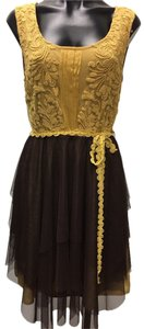 Ryu Tulle Embroidered Short Dress