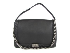 Chanel Xl Xxl Maxi Jumbo Classic Flap Shoulder Bag
